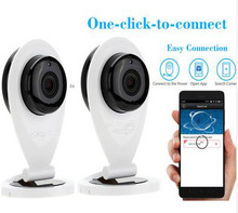 Cute design mini hidden 360eyes p2p wifi ip cam with low price for home security