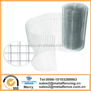 6mX900mm Square Galvanised Chicken Rabbit Cage netting Welded Wire Aviary Fence mesh