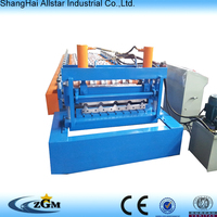 metal carpet making machinery arch roof building forming machine