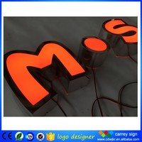Led signs and light led letter sign for new advertising ideas