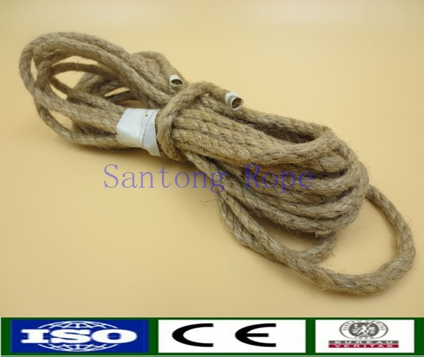Twisted sisal rope