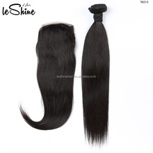 Wholesale Virgin Human Brazilian Grey Top Closure Hair