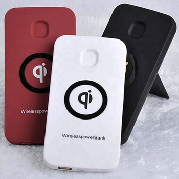 Rechargeable Battery Qi Wireless Charger Power Bank For Cell Phones