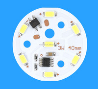 High Voltage 110V/220V AC LED module 5630 smd led PCB assembly
