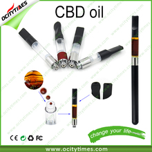 2015 hottest selling vaporizer e cigarette cbd oil empty cartridge/bud touch battery