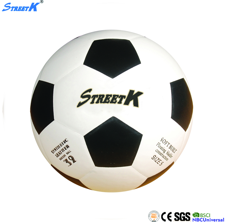 2016 Streetk wholesale soccer ball cheap high quality size five retro soccer ball