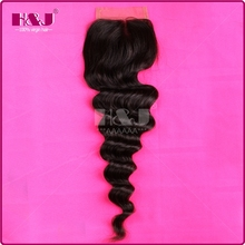 High Feedback Good Reputation Natural Wave Middle Part Lace Top Hair Closures