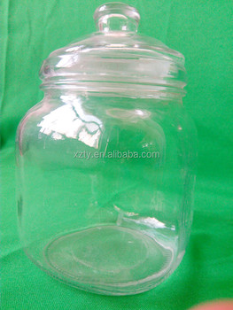 1010 ml pickle bottle with glass lid and silicone ring