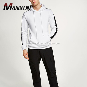 High Quality White Oversized Latest Mens Blank Hoodies Sweatshirts