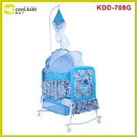 High quality hot sale eco-friendly cradle baby swinging bed