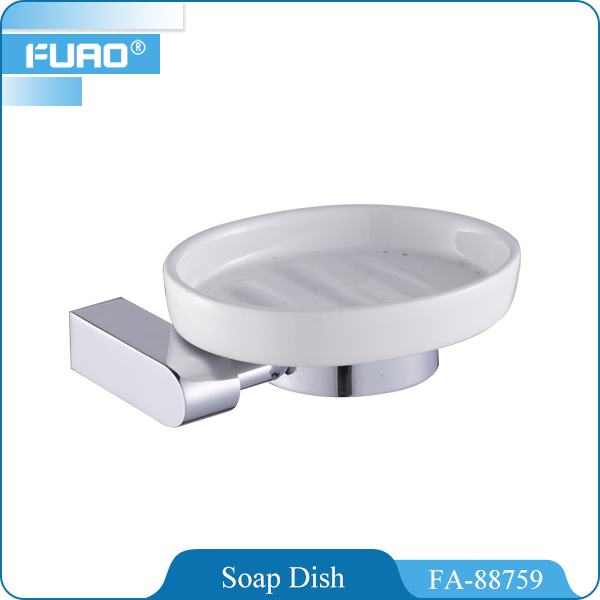 FUAO hotel bathroom ceramic cheap soap dish