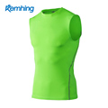 2017 new design quick dry compression gym tank top men sports workout tank top