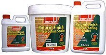 Natural Finish Waterproofing Sealer