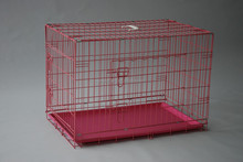 new design suitcase foldable wire welded dog kennels or USA market