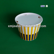 32oz-170oz fried chicken/popcorn printed paper buckets