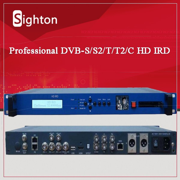 rf tuner to audio video high definition strong decoder