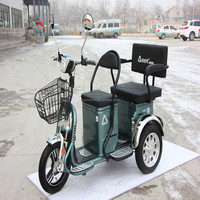 electric three wheel bike electric tricycle for passengers model LX-05
