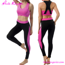 Accept OEM Services Rose Red Wholesale Women Fitness Yoga Wear