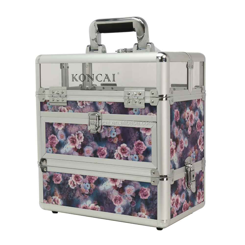 Professional beauty makeup case Nail Polish Suitcase Light-weight case