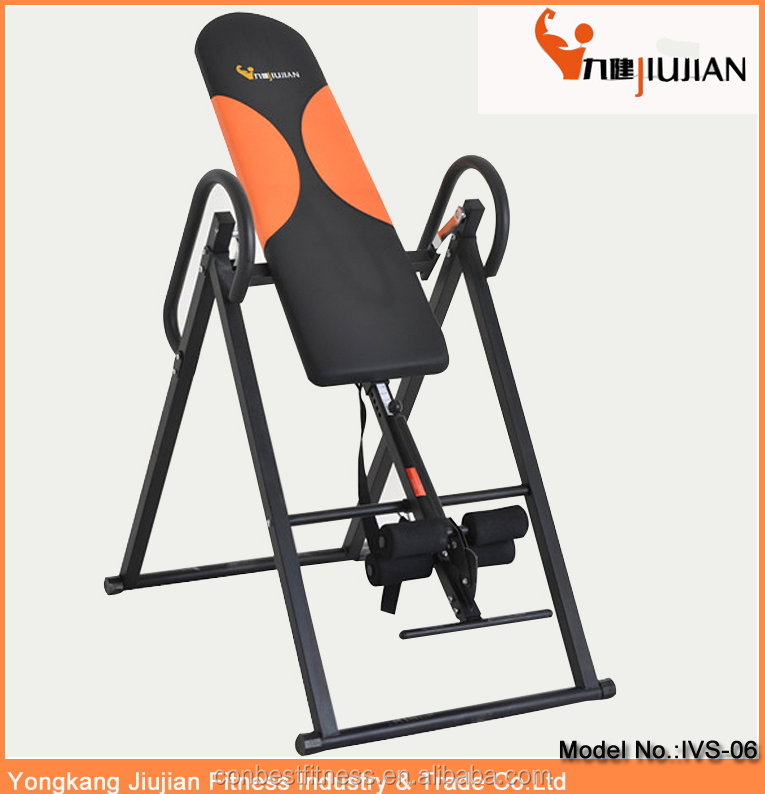Gym Body Building Equipment Back Stretcher Inversion Table