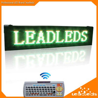 Fashionable Design Outdoor P10 RGY Color Wireless Advertising LED Display with Remote Keyboard