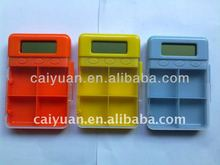 24hours countdown 4 groups pill box alarm timer