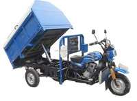2016 new design best price rubbish 250cc garbage 3 Wheel Motorcycle cargo tricycle for sale in Columbia