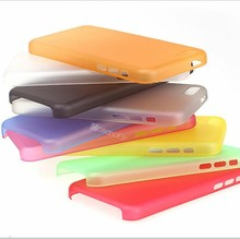 Tranclucent crystal clear ultra thin pp case for iphone 5c frosted finish quality case made in China alibaba express