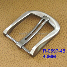 High Quality custom belt buckle , custom metal die casting belt buckle with material zinc alloy R-0597-48