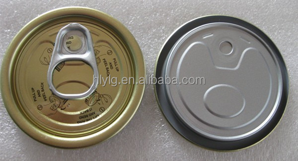 Y202 52mm New tin can eoe , aluminum inside lacquer for fish can