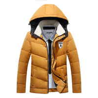 Hot 2015 winter white duck down fashion thick short down jacket down coat