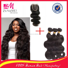 best quality wholesale hair weave tangle free body wave brazilian hair in new york