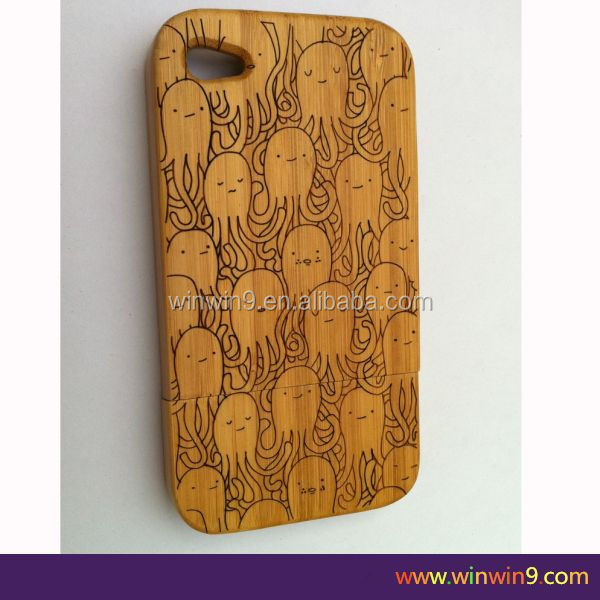 Top Sale Cell Phone Case Cover For iPhone 6, Wholesale Case mobile phone wood case cover for iphone5