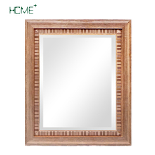 country style antique bathroom decorative 3D wall mirrors