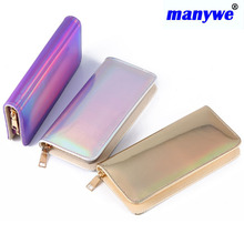 Best pu Leather Card women Long Wallet Size