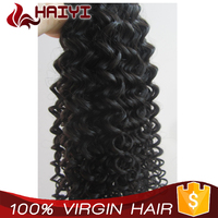 Raw material no chemical processed 100% indian temple virgin indian deep curly hair