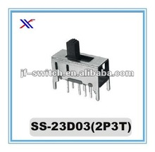 8 pin slide switch SS-23D03(2P3T)