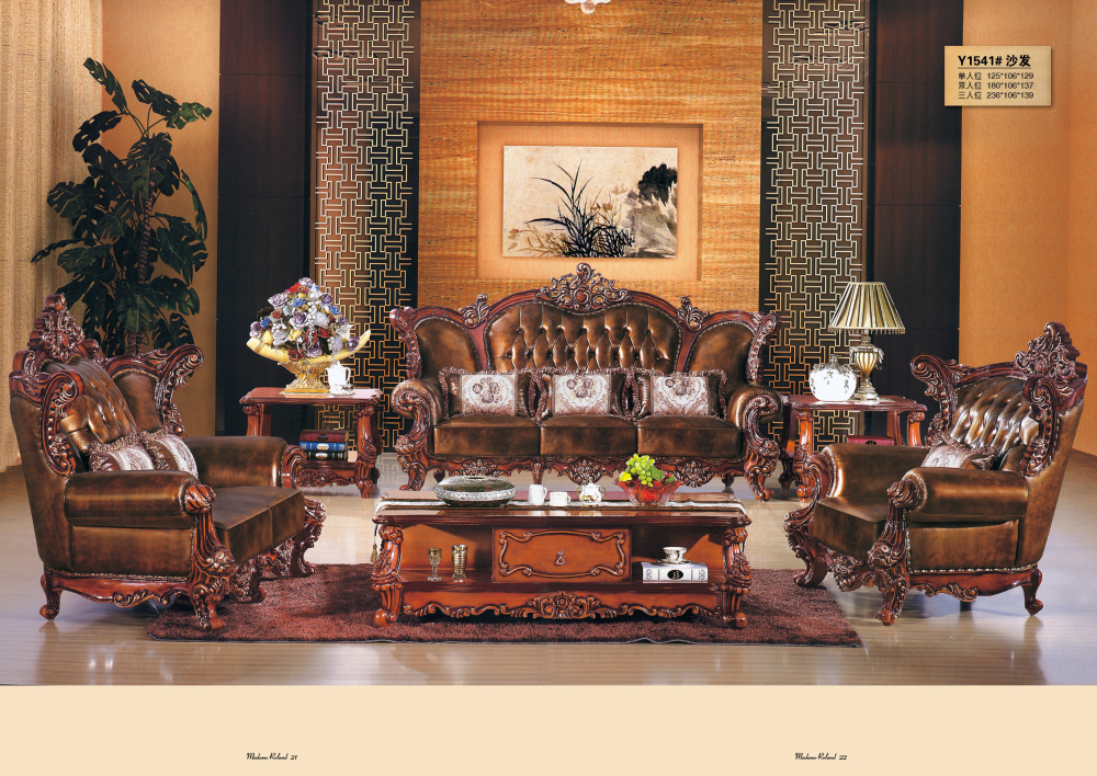 Chesterfield Sofa Royal Furniture Set Living Room Antique Style Sofa ...