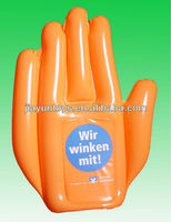 pvc inflatable promotional hand