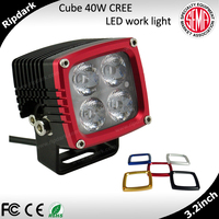 Hot sale high-end RUN-D 40w 4x4 ATV UTV Truck Car led tuning / driving / working light