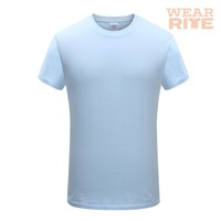 Wholesale 100% Cotton Gildan Plain Round Neck T Shirt In Stock