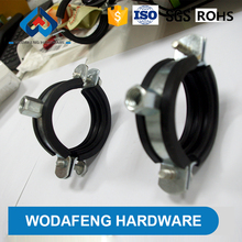 reasonable price compression pipe clamp with rubber