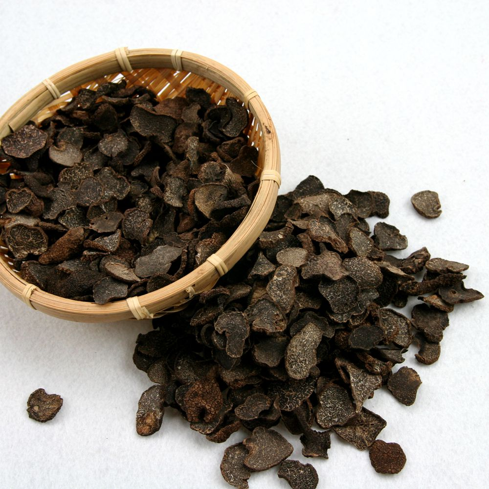 Dried Black Truffle Slice Tuber slice for sale