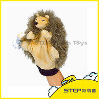 SGS Tested Meet EN71 And ASTM Standard Minion Lion Hand Puppet Plush Toy