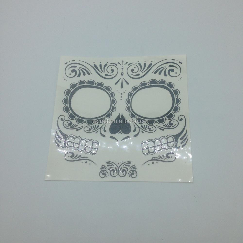 halloween festival temporary tattoo sticker for kids