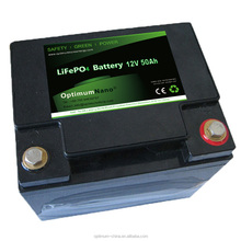 12V battery pack 50AH for back up power Solar energy