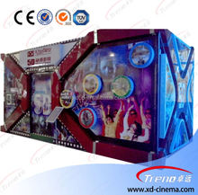 Hot selling 4d 5d 6d cinema equipment for shopping malls 4d 5d cinema simulator 9d theatre for sale