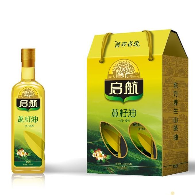 Natural food plant oil NON-GMO organic tea camellia seed oil tea seed oil