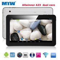 10.1inch tablet All Winner A23 1.5GHz dual core 1G DDR 8GB dual camera