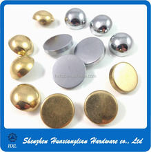 Customized high quality of brass and aluminum screw caps with competitive price